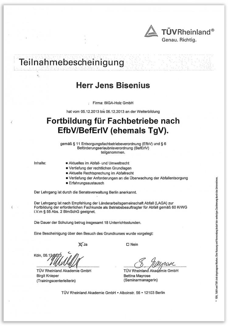 Zertifikat_Abfall